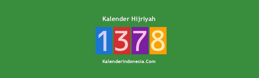 Banner Hijriyah 1378