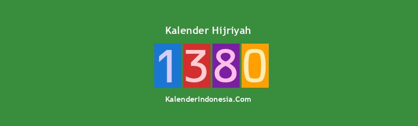 Banner Hijriyah 1380