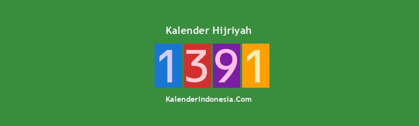Banner Hijriyah 1391