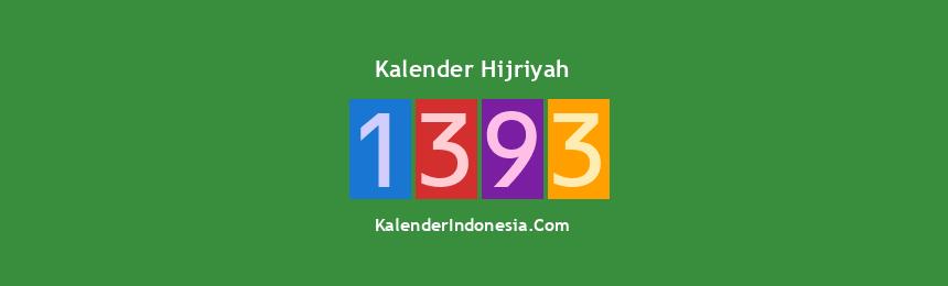 Banner Hijriyah 1393