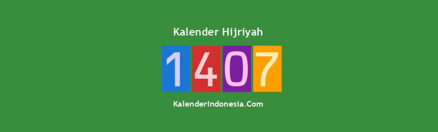 Banner Hijriyah 1407
