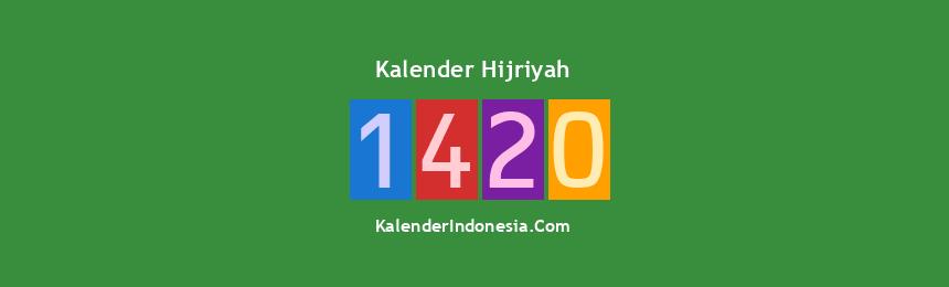 Banner Hijriyah 1420
