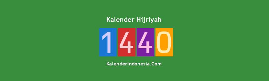 Banner Hijriyah 1440