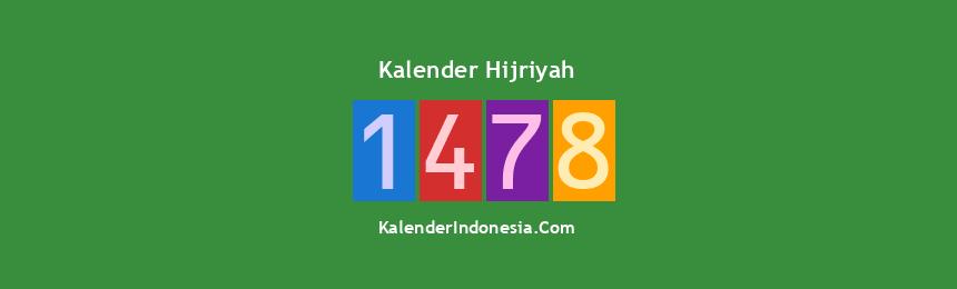 Banner Hijriyah 1478