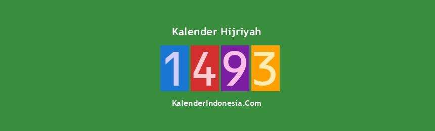 Banner Hijriyah 1493