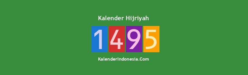 Banner Hijriyah 1495