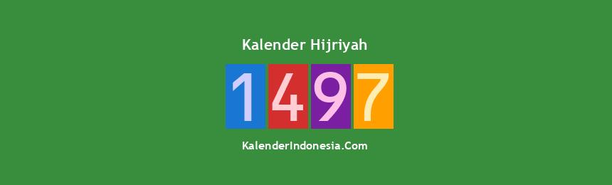 Banner Hijriyah 1497