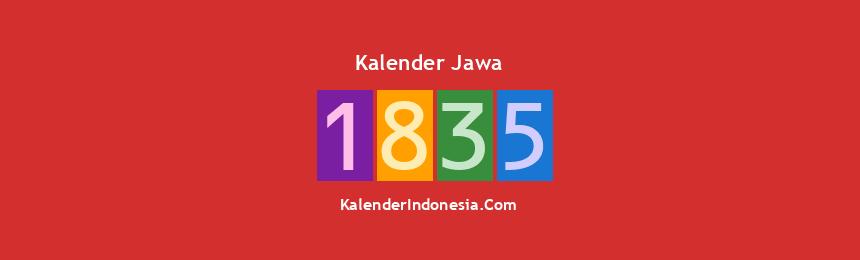 Banner Jawa 1835