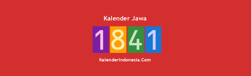 Banner Jawa 1841