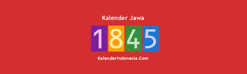 Banner Jawa 1845