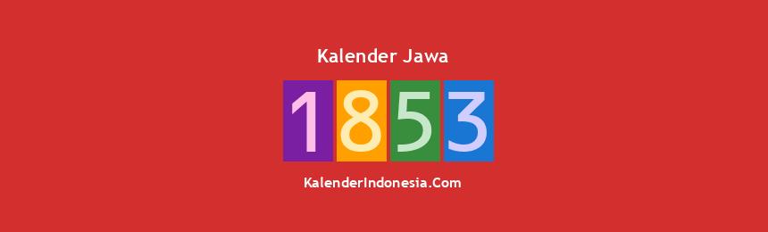 Banner Jawa 1853