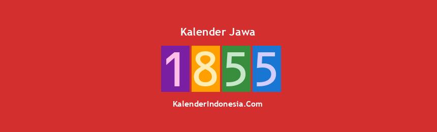 Banner Jawa 1855