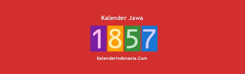 Banner Jawa 1857