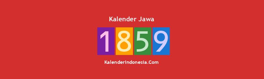 Banner Jawa 1859