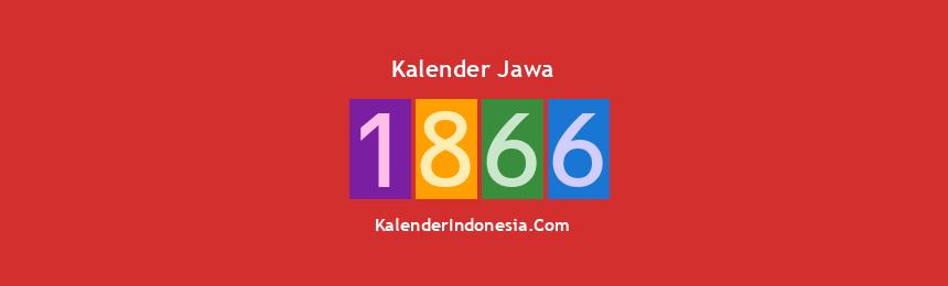 Banner Jawa 1866