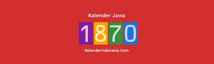 Banner Jawa 1870