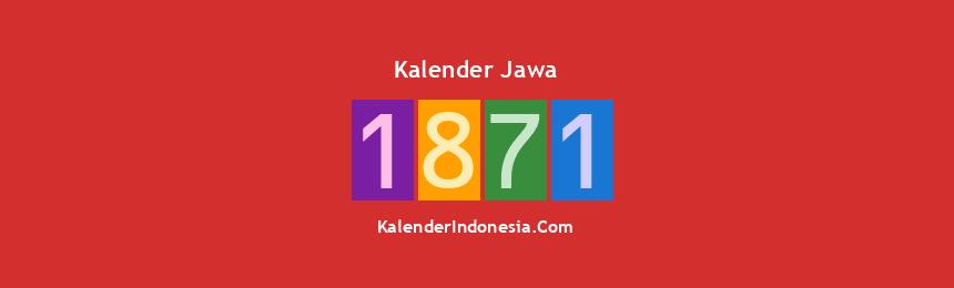 Banner Jawa 1871