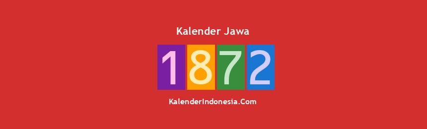 Banner Jawa 1872