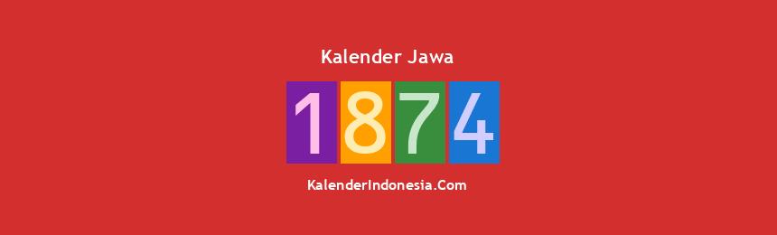 Banner Jawa 1874