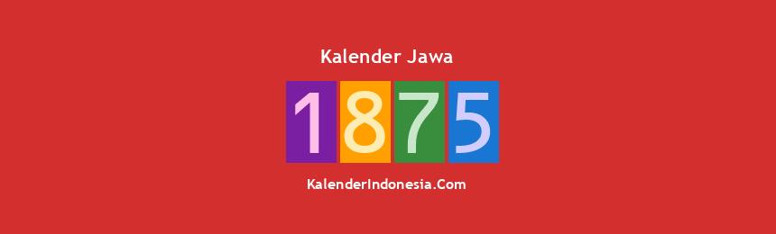 Banner Jawa 1875