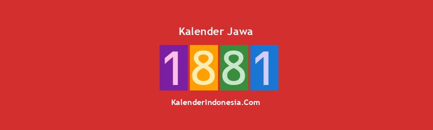 Banner Jawa 1881