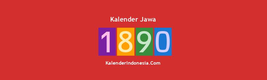 Banner Jawa 1890