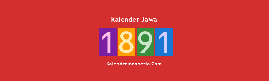 Banner Jawa 1891