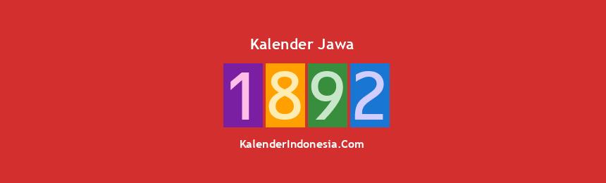 Banner Jawa 1892