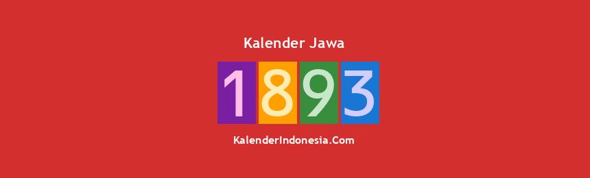 Banner Jawa 1893