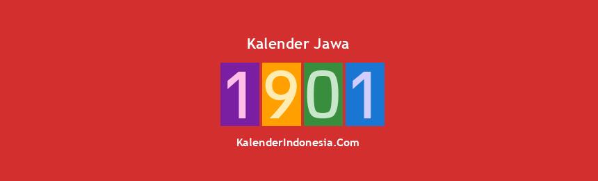 Banner Jawa 1901