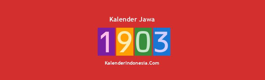 Banner Jawa 1903