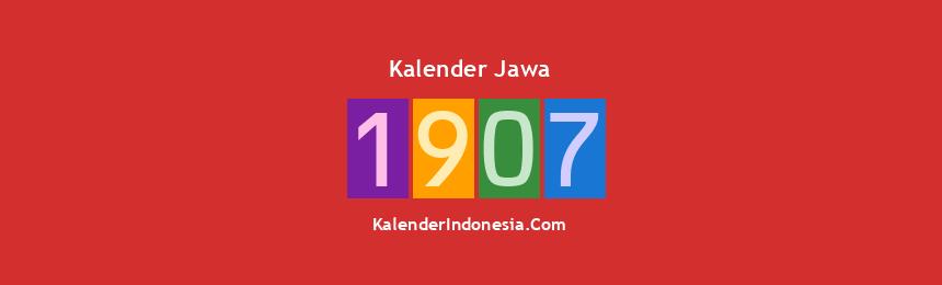 Banner Jawa 1907