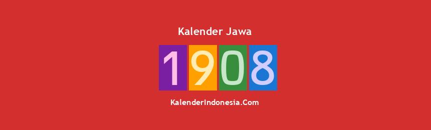 Banner Jawa 1908