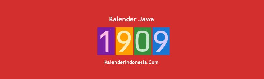 Banner Jawa 1909