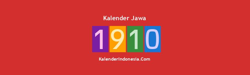 Banner Jawa 1910