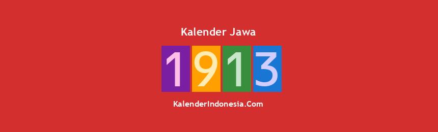 Banner Jawa 1913