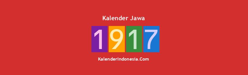 Banner Jawa 1917