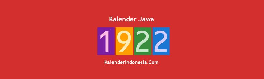 Banner Jawa 1922