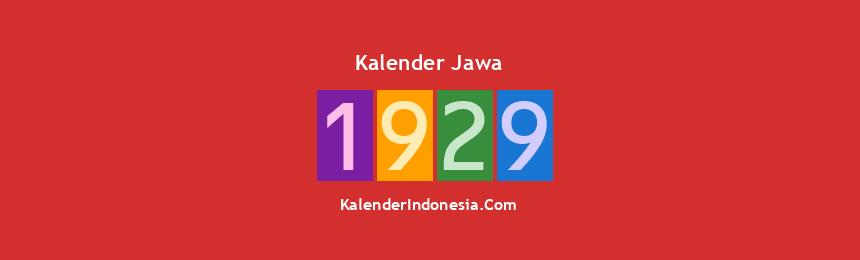 Banner Jawa 1929