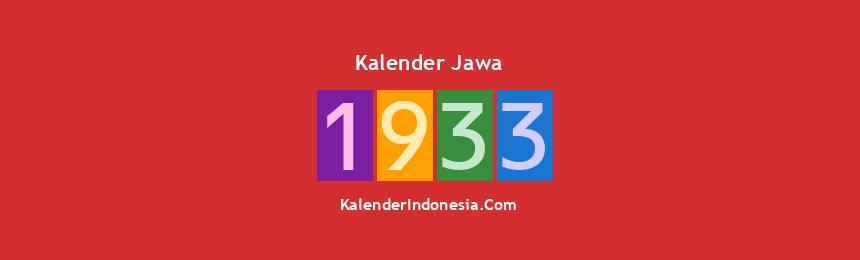 Banner Jawa 1933
