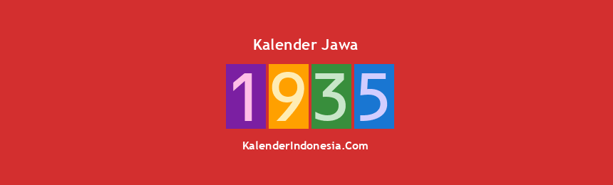 Banner Jawa 1935