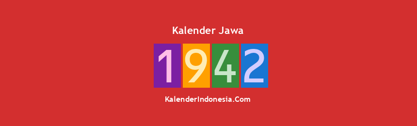 Banner Jawa 1942