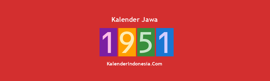 Banner Jawa 1951