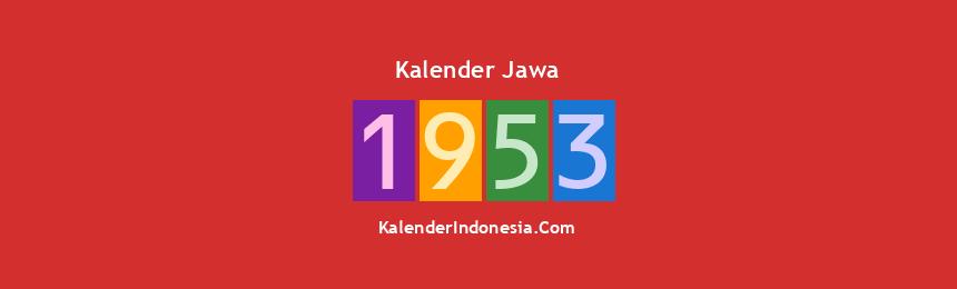 Banner Jawa 1953