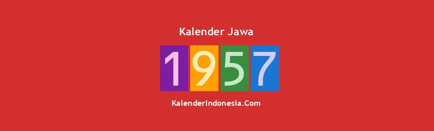 Banner Jawa 1957