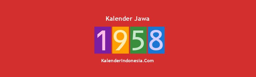 Banner Jawa 1958