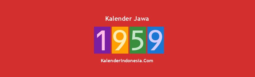 Banner Jawa 1959