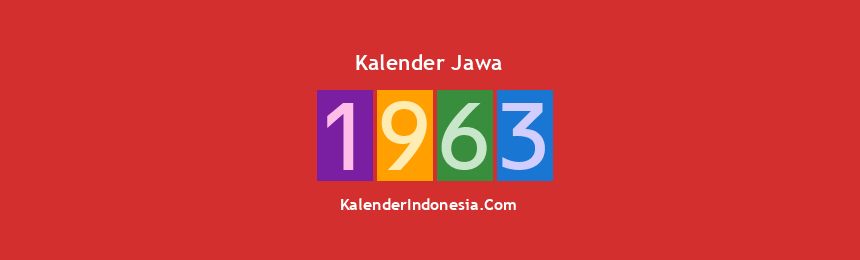 Banner Jawa 1963
