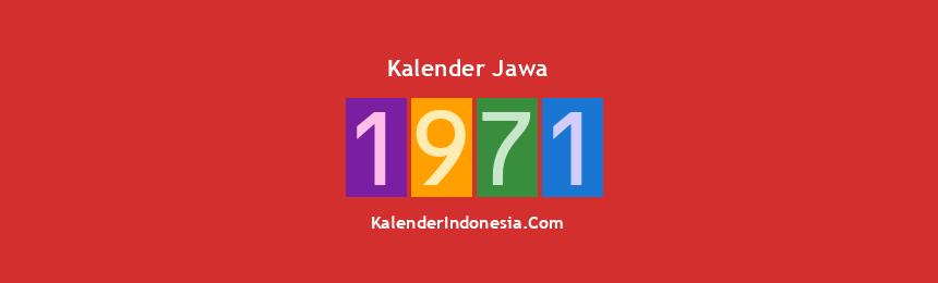 Banner Jawa 1971