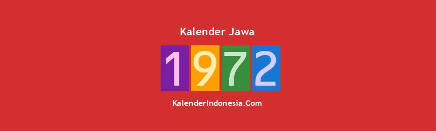 Banner Jawa 1972